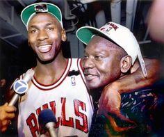 Jordan and dad