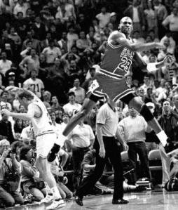 Jordan the shot