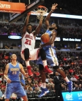 NBA: Preseason-Denver Nuggets at Chicago Bulls