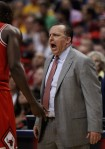 Thibs yelling at Luol Deng