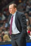Tom Thibodeau of the Chicago Bulls