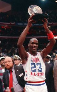 1988 All-Star Game MVP Michael Jordan