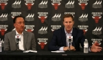 Chicago Bulls head coach Fred Hoiberg and general manager (GM) Gar Forman